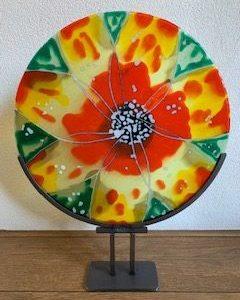 glasfusing bloem
