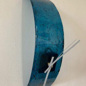 klok hanger blauw