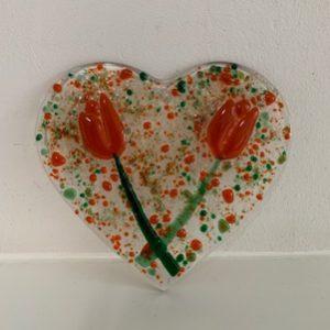 valentijn hart oranje